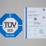 گواهینامه ایزو 13485